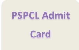 pspcl admit card