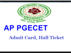ap pgecet admit card 2019