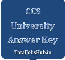 ccs university answer key