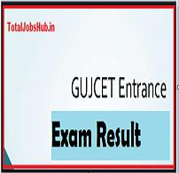 gujcet result