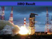 isro result