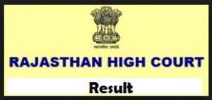 Rajasthan High Court Result
