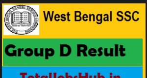 wbssc group d result