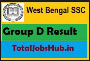 wbssc group d result