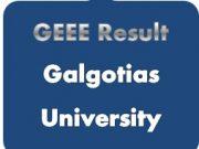 geee result