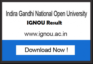 ignou exam results