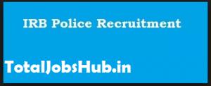 irb police recruitment