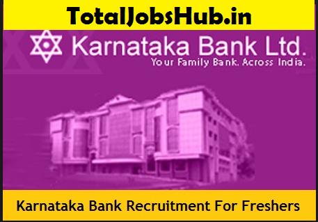 Karnataka Bank Recruitment