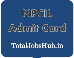 npcil admit card