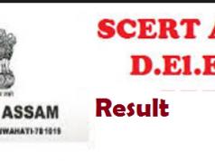 scert assam result