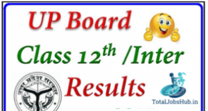 up board 12th result 2018