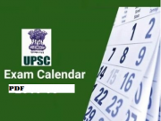 upsc exam calendar pdf