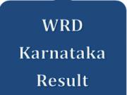 WRD Karnataka Result