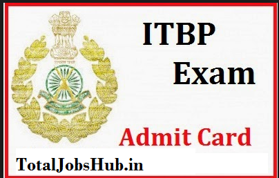 ITBP Constable Admit Card