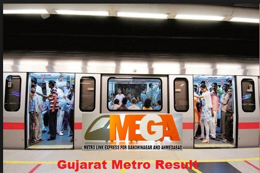 Gujarat metro rail result