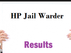 hp jail warder result