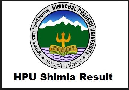 hpu shimla result