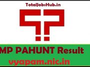 mp pahunt result