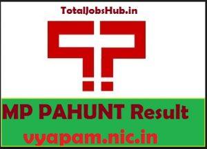 mp pahunt result
