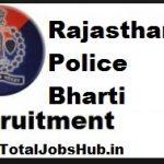 rajasthan police Bharti