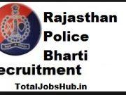 rajasthan police si vacancy