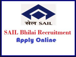 sail bhilai recruitment