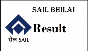 sail bhilai results