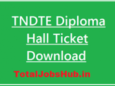 tndte diploma hall ticket