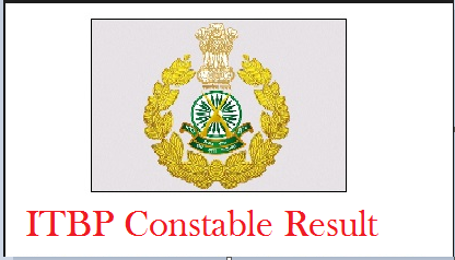 ITBP Constable Result