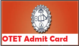otet admit card