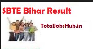 sbte bihar polytechnic result