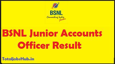 BSNL JAO Result