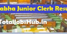Lok Sabha Junior Clerk Result