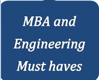 MBA and Engineering Must haves