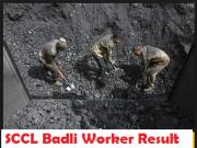 SCCL Badli Worker Result