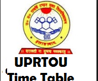 UPRTOU Time Table