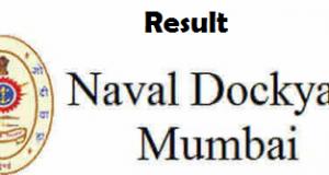 naval dockyard mumbai results