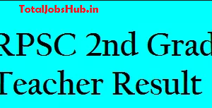 rpsc 2nd grade teacher result