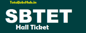 sbtet diploma hall tickets
