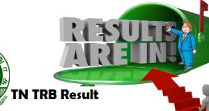 tn trb lecturer result