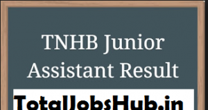 tnhb Junior Assistant result