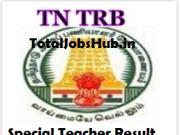 trb tamil nadu special teacher result