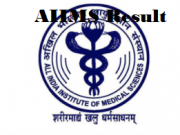 AIIMS Bhubaneswar Junior Resident Result
