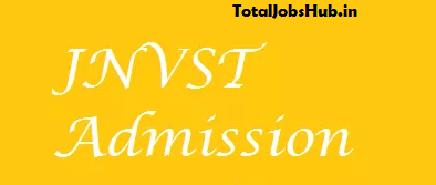 Navodaya Vidyalaya Class 6 Admission Form 2019 JNVST VI Online Form