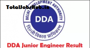 dda junior engineer result