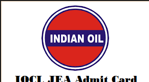 iocl jea admit card