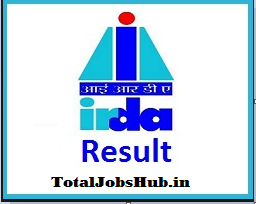 irda assistant manager result