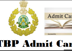 itbp head constable admit card
