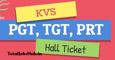 kvs tgt pgt admit card