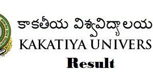Kakatiya University Result